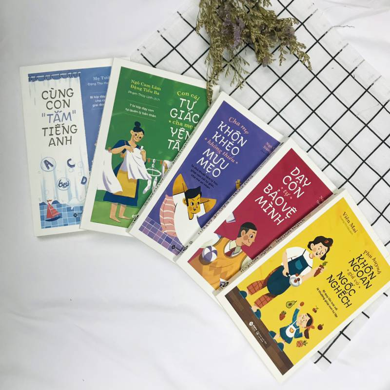 Combo Phụ huynh 4.0 ( Bộ 5 cuốn)